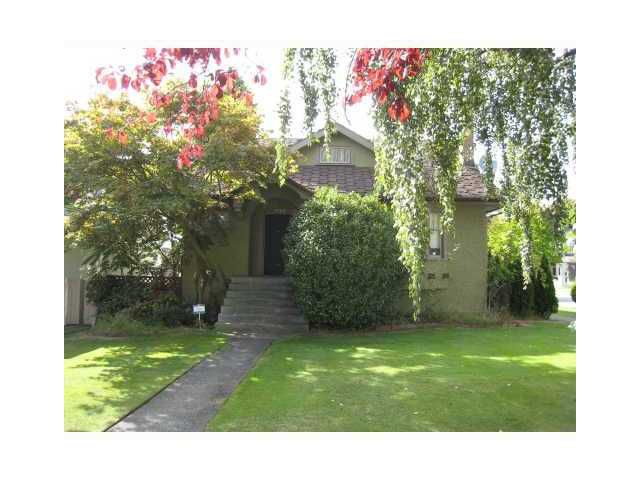 Main Photo: 6709 WILTSHIRE Street in Vancouver: South Granville House for sale (Vancouver West)  : MLS®# V861149