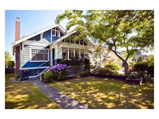 Main Photo: 947 W 20TH Avenue in Vancouver: Cambie House for sale (Vancouver West)  : MLS®# V850103