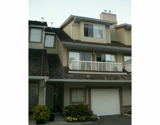 """Main Photo: 3437 AMBERLY PL in Vancouver: Champlain Heights Townhouse for sale in """"TIFFANY RIDGE"""" (Vancouver East)  : MLS®# V556665"""
