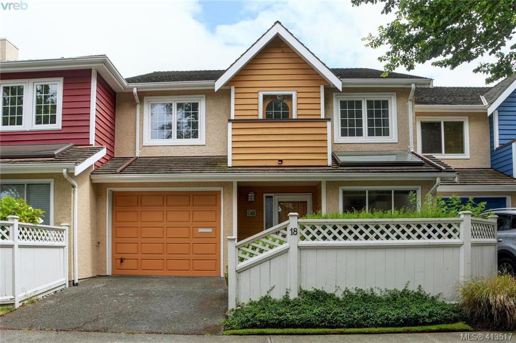 Main Photo: 18 416 Dallas Road in VICTORIA: Vi James Bay Row/Townhouse for sale (Victoria)  : MLS®# 413517
