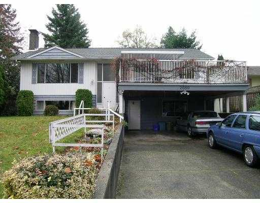 Main Photo: 2089 CONCORD AV in Coquitlam: Cape Horn House for sale : MLS®# V563726