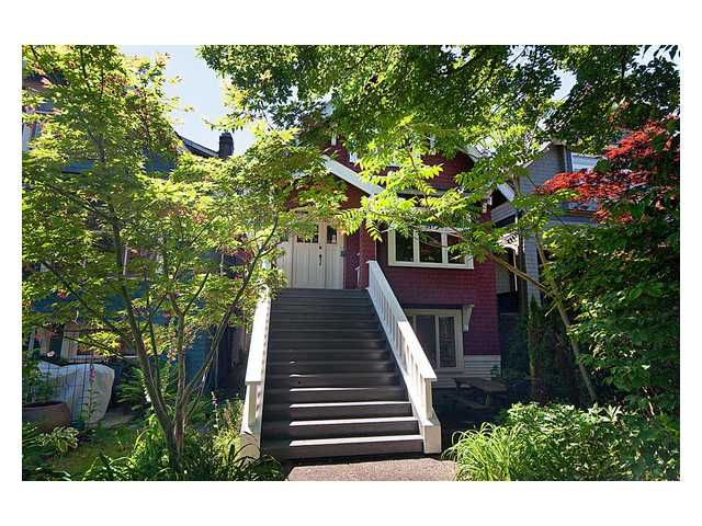 Main Photo: 2736 W 7TH Avenue in Vancouver: Kitsilano House for sale (Vancouver West)  : MLS®# V838563