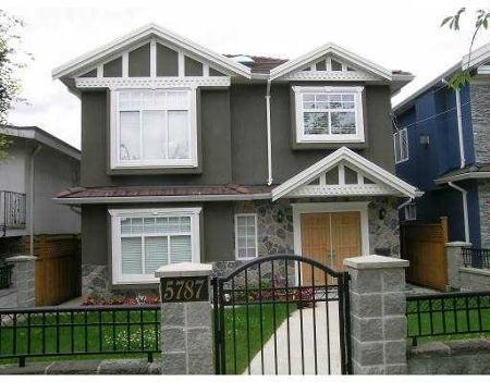 Main Photo: 5787 Berkeley Street in Vancouver: Killarney VE House for sale (Vancouver East)  : MLS®# V656152