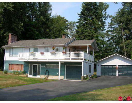 Main Photo: 16945 20TH Avenue in Surrey: Pacific Douglas House for sale (South Surrey White Rock)  : MLS®# F1003275