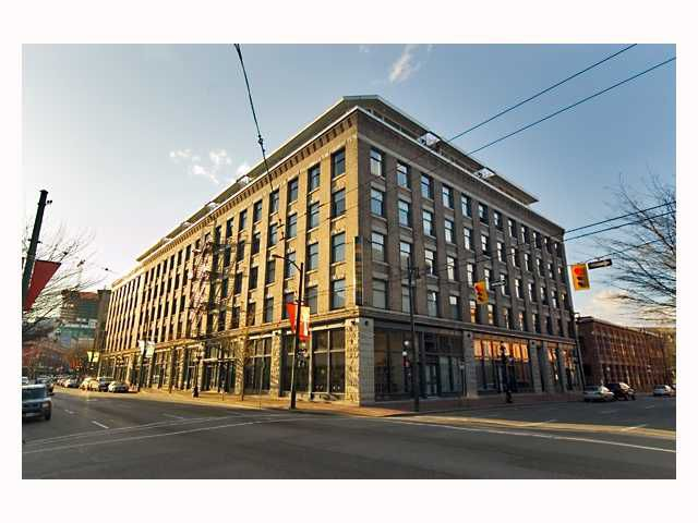 "Main Photo: 507 55 E CORDOVA Street in Vancouver: Downtown VE Condo for sale in ""KORET LOFTS"" (Vancouver East)  : MLS®# V819293"