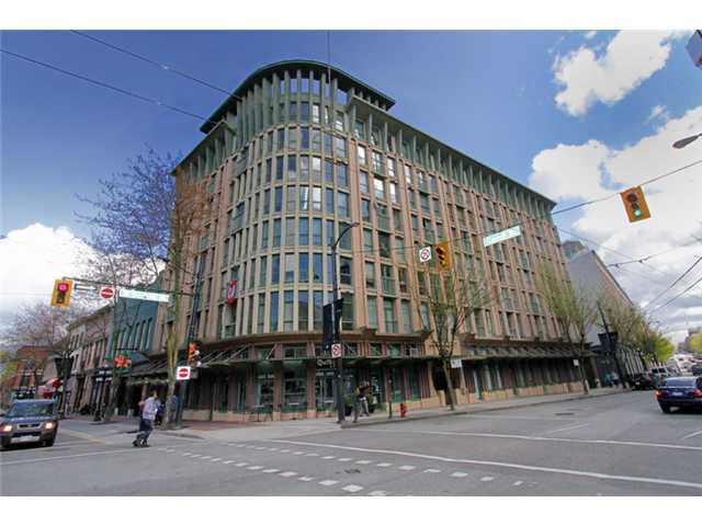 """Main Photo: 206 1 E CORDOVA Street in Vancouver: Downtown VE Condo for sale in """"CARRALL STATION"""" (Vancouver East)  : MLS®# V820385"""