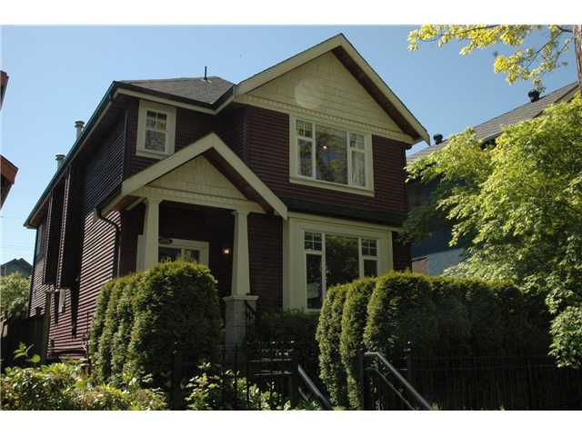 Main Photo: 2162 E 2ND Avenue in Vancouver: Grandview VE House 1/2 Duplex for sale (Vancouver East)  : MLS®# V829062