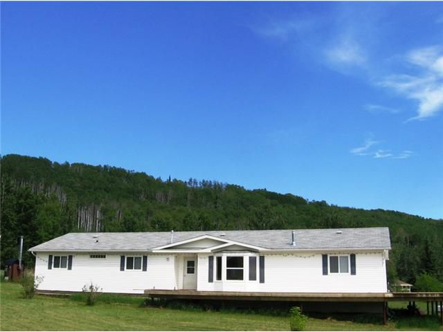 "Main Photo: 7857 ALASKA Highway in Fort Nelson: Fort Nelson - Rural Manufactured Home for sale in ""MILE 308"" (Fort Nelson (Zone 64))  : MLS®# N202285"