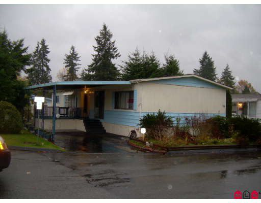 "Main Photo: 58 7850 KING GEORGE Highway in Surrey: West Newton Manufactured Home for sale in ""BEAR CREEK GLEN"" : MLS®# F2831545"