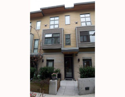 """Main Photo: 3774 COMMERCIAL Street in Vancouver: Victoria VE Townhouse for sale in """"BRIX"""" (Vancouver East)  : MLS®# V762158"""