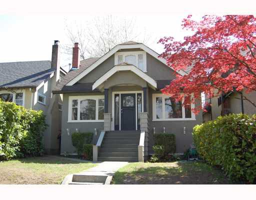 "Main Photo: 366 W 22ND Avenue in Vancouver: Cambie House for sale in ""CAMBIE"" (Vancouver West)  : MLS®# V766783"
