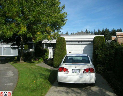 """Main Photo: 108 14271 18A Avenue in Surrey: Sunnyside Park Surrey Townhouse for sale in """"OCEAN BLUFF COURT"""" (South Surrey White Rock)  : MLS®# F1003006"""