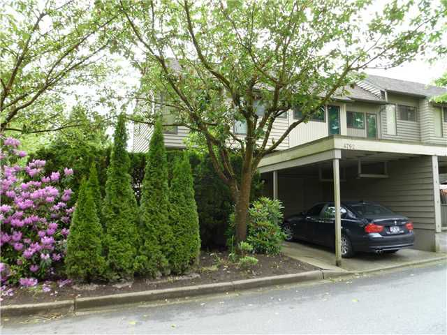 """Main Photo: 4792 CEDARGLEN Place in Burnaby: Greentree Village Townhouse for sale in """"GREENTREE VILLAGE"""" (Burnaby South)  : MLS®# V833973"""