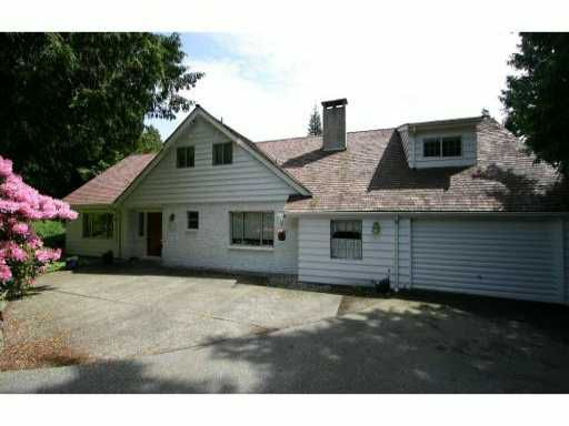 Main Photo: 4718 CAULFEILD Drive in West Vancouver: Caulfeild House for sale : MLS®# V816009