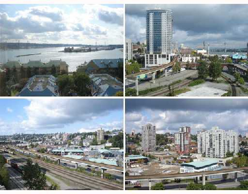 """Main Photo: 1006 1045 QUAYSIDE Drive in New_Westminster: Quay Condo for sale in """"QUAYSIDE TOWER 1"""" (New Westminster)  : MLS®# V735165"""