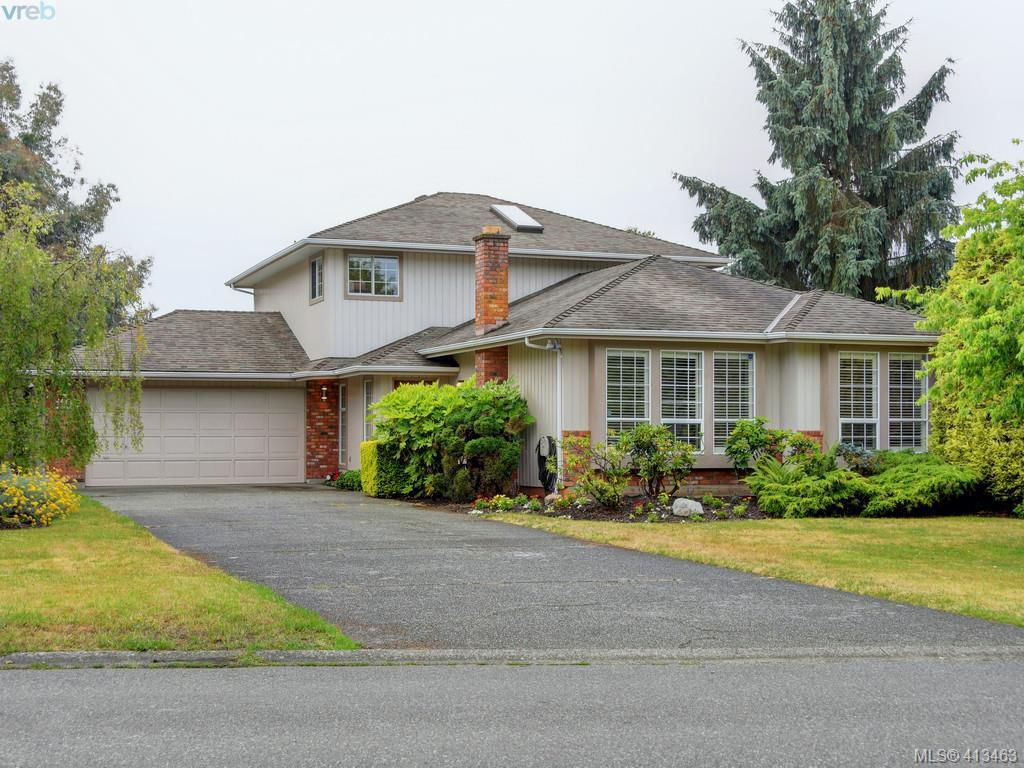Main Photo: 1195 Sunnygrove Terrace in VICTORIA: SE Sunnymead Single Family Detached for sale (Saanich East)  : MLS®# 413463