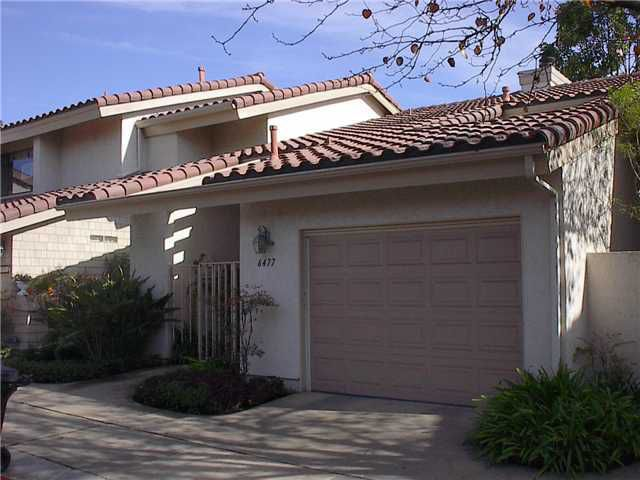 Main Photo: LA JOLLA Property for sale or rent : 2 bedrooms : 6477 CAMINITO FORMBY