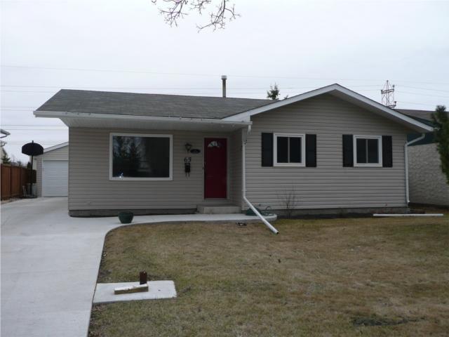 Main Photo: 63 Southwell Road in WINNIPEG: North Kildonan Residential for sale (North East Winnipeg)  : MLS®# 1006315