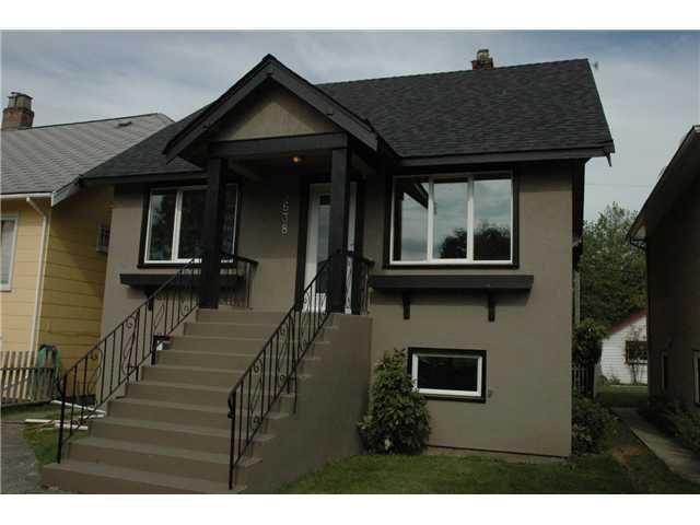 Main Photo: 5138 CHESTER Street in Vancouver: Fraser VE House for sale (Vancouver East)  : MLS®# V838434