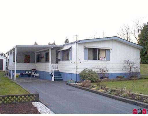 "Main Photo: 29 7850 KING GEORGE HY in Surrey: East Newton Manufactured Home for sale in ""Bear Creek Glen"" : MLS®# F2427278"