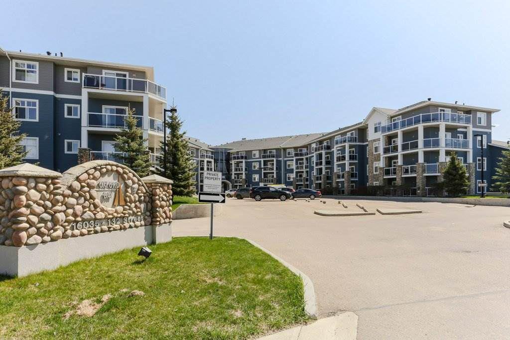 Main Photo: 208 16035 132 Street in Edmonton: Zone 27 Condo for sale : MLS®# E4165155