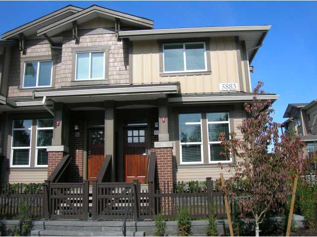 """Main Photo: 16 5883 IRMIN Street in Burnaby: Metrotown Townhouse for sale in """"MACPHERSON WALK EAST"""" (Burnaby South)  : MLS®# V792080"""