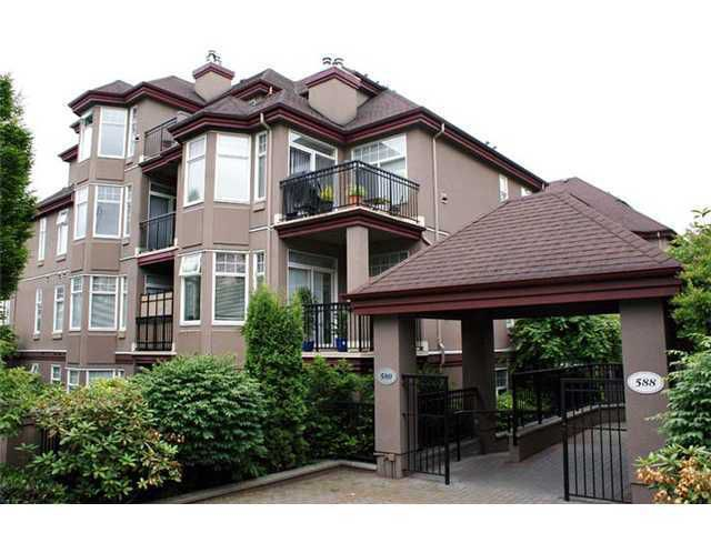 """Main Photo: 203 580 12TH Street in New Westminster: Uptown NW Condo for sale in """"THE REGENCY"""" : MLS®# V865161"""