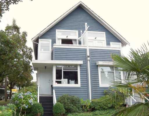 Main Photo: 992 E 13TH Avenue in Vancouver: Mount Pleasant VE House 1/2 Duplex for sale (Vancouver East)  : MLS®# V780649