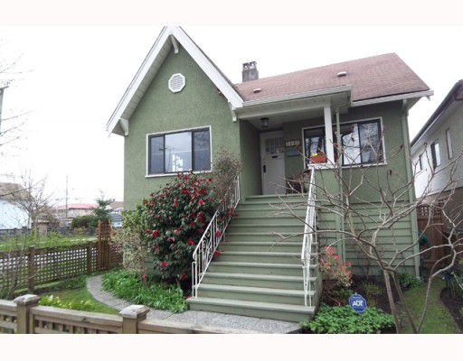 Main Photo: 2803 GRANT Street in Vancouver: Renfrew VE House for sale (Vancouver East)  : MLS®# V762268