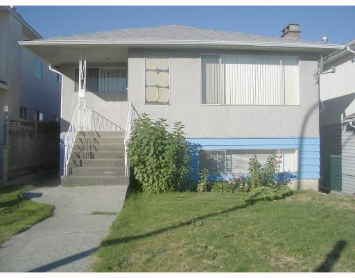 Main Photo: 3393 WELLINGTON Avenue in Vancouver: Collingwood VE House for sale (Vancouver East)  : MLS®# V787044