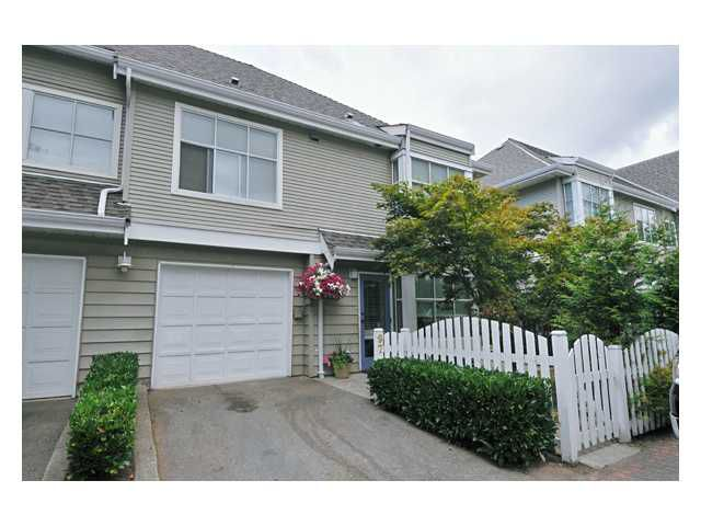 "Main Photo: 97 12099 237TH Street in Maple Ridge: East Central Townhouse for sale in ""THE GABRIOLA"" : MLS®# V843157"