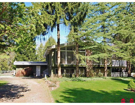 Main Photo: 21803 6TH Avenue in Langley: Campbell Valley House for sale : MLS®# F2907403