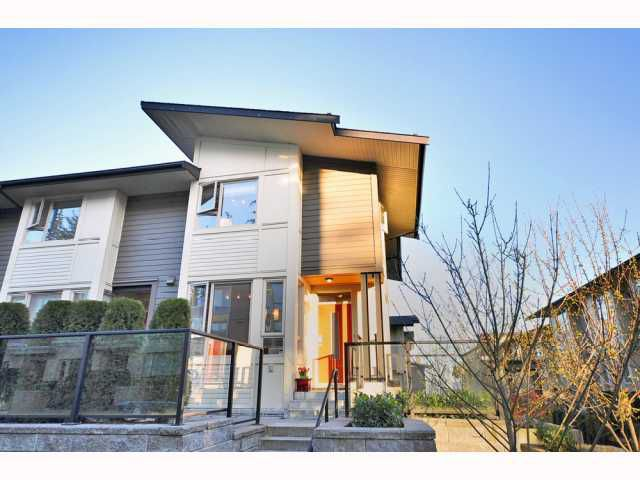 "Main Photo: 49 9229 UNIVERSITY Crescent in Burnaby: Simon Fraser Univer. Townhouse for sale in ""SERENITY"" (Burnaby North)  : MLS®# V813980"