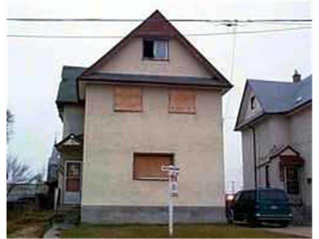 Main Photo: 669 ROSS Avenue in WINNIPEG: Brooklands / Weston Residential for sale (West Winnipeg)  : MLS®# 2014724