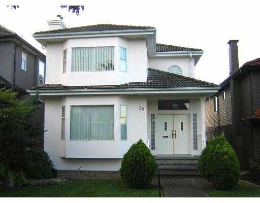 Main Photo: 28 W 45TH Ave in Vancouver: Oakridge VW House for sale (Vancouver West)  : MLS®# V616420