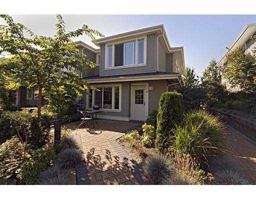 """Main Photo: 11 7370 STRIDE Avenue in Burnaby: Edmonds BE Townhouse for sale in """"MAPLEWOOD TERRACE"""" (Burnaby East)  : MLS®# V734166"""
