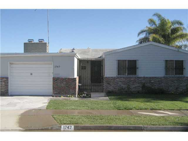 Main Photo: LINDA VISTA House for sale : 3 bedrooms : 1747 Minden in San Diego