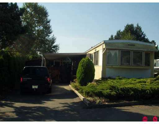 "Main Photo: 35 13650 80 AV in Surrey: Bear Creek Green Timbers Manufactured Home for sale in ""Leeside"" : MLS®# F2619943"