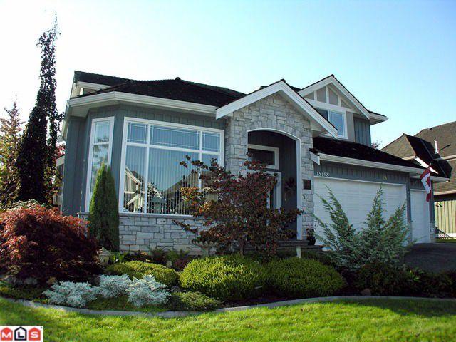 Main Photo: 15498 37A Avenue in Surrey: Morgan Creek House for sale (South Surrey White Rock)  : MLS®# F1026228