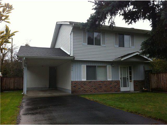 Main Photo: 3820 BLUNDELL RD in Richmond: Seafair House 1/2 Duplex for sale : MLS®# V1007420