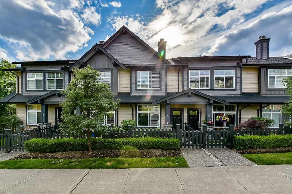 Main Photo: 16 13819 232 Street in Maple Ridge: Silver Valley Townhouse for sale : MLS®# R2082406
