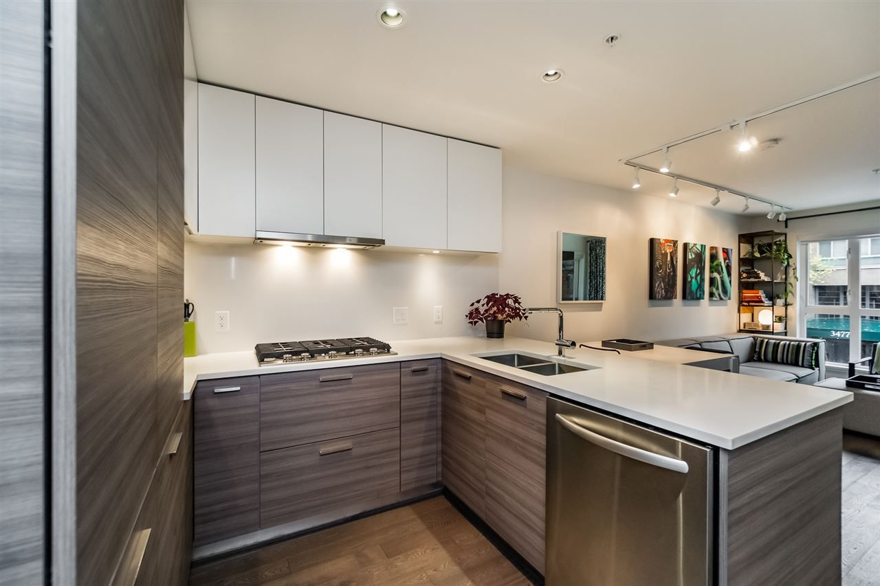 """Main Photo: 217 3456 COMMERCIAL Street in Vancouver: Victoria VE Condo for sale in """"MERCER BY CRESSEY"""" (Vancouver East)  : MLS®# R2117475"""