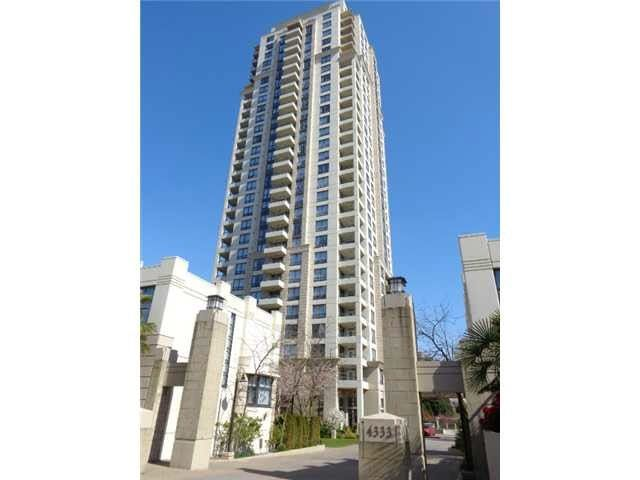 Main Photo: 1103 4333 CENTRAL Boulevard in Burnaby: Metrotown Condo for sale (Burnaby South)  : MLS®# R2162212
