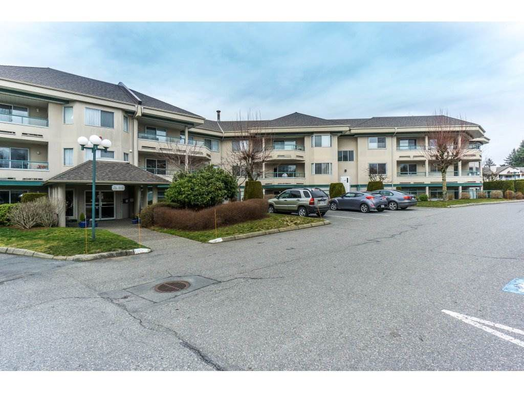 """Main Photo: 245 2451 GLADWIN Road in Abbotsford: Abbotsford West Condo for sale in """"Centennial Court"""" : MLS®# R2337024"""