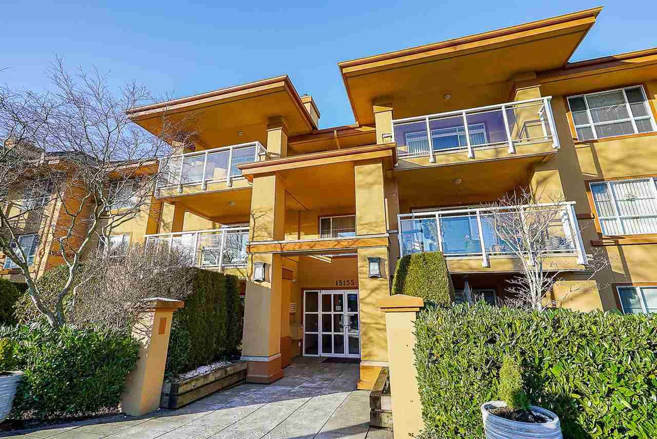 "Main Photo: 105 15155 22 Avenue in Surrey: Sunnyside Park Surrey Condo for sale in ""VILLA PACIFIC"" (South Surrey White Rock)  : MLS®# R2339209"