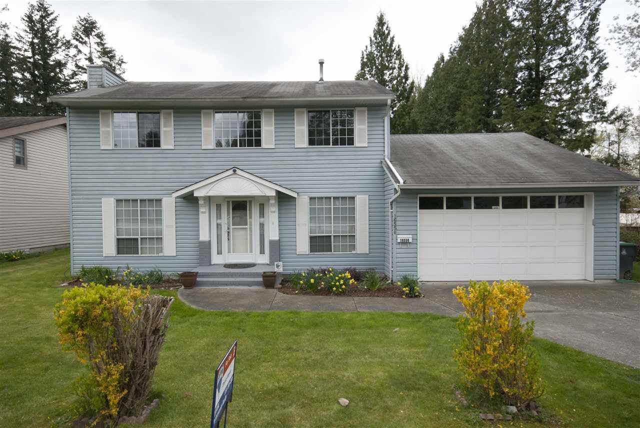 Main Photo: 16550 80 Avenue in Surrey: Fleetwood Tynehead House for sale : MLS®# R2358484
