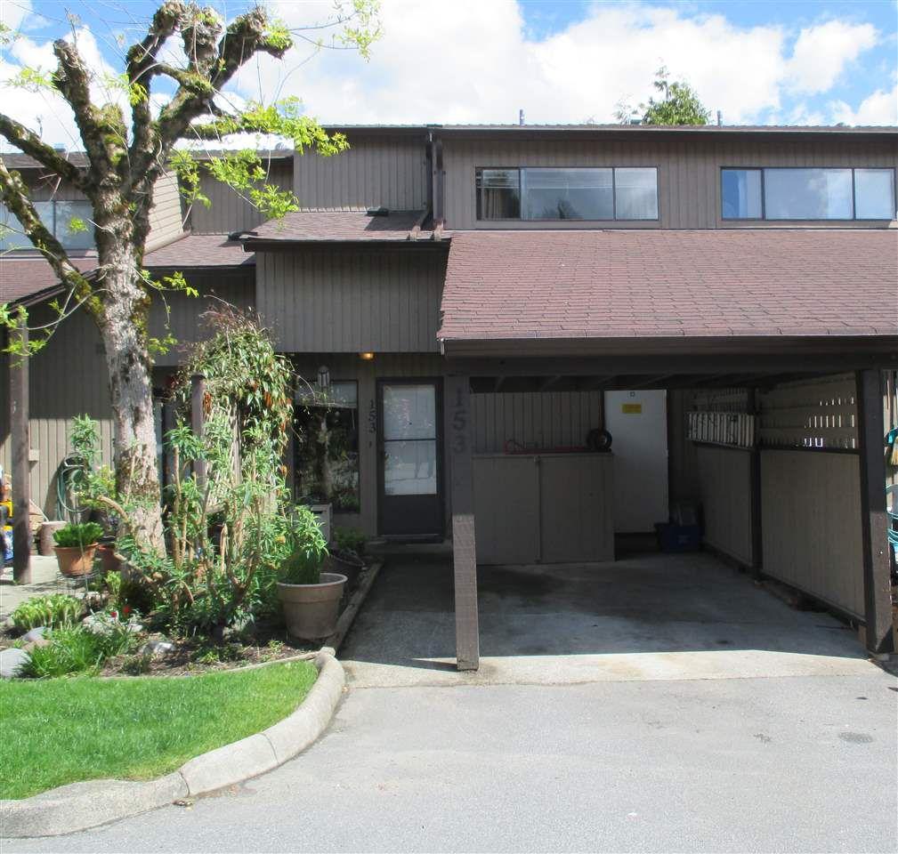 "Main Photo: 153 27044 32 Avenue in Langley: Aldergrove Langley Townhouse for sale in ""BERTRAND ESTATES"" : MLS®# R2363692"