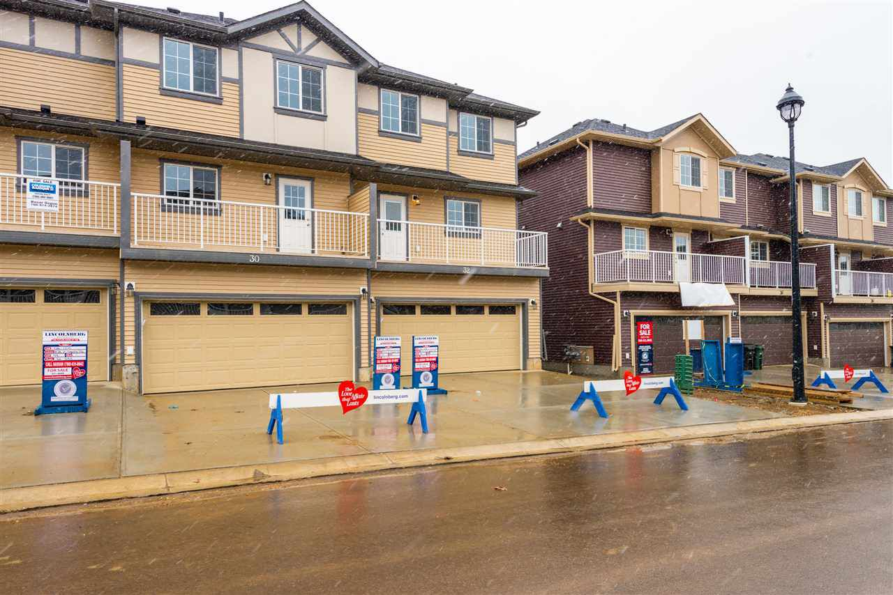 Main Photo: 32 20 Augustine Crescent: Sherwood Park Townhouse for sale : MLS®# E4156547