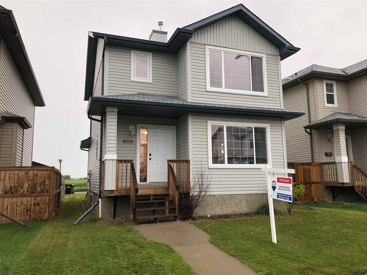 Main Photo: 4510 75 Street: Camrose House for sale : MLS®# E4163324