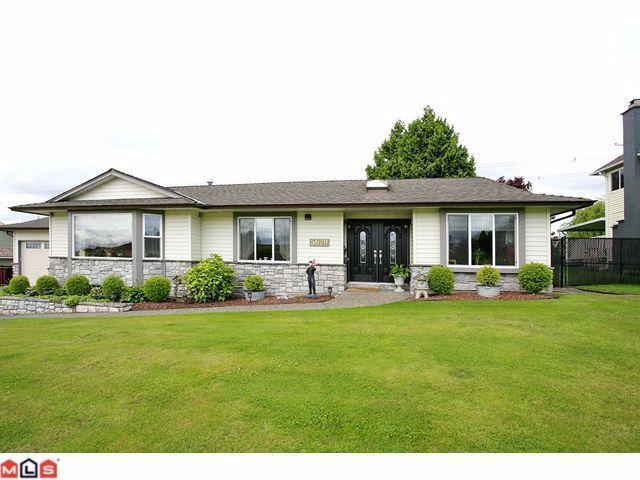 "Main Photo: 5679 W SUNRISE in Surrey: Cloverdale BC House for sale in ""SUNRISE ESTATES"" (Cloverdale)  : MLS®# F1115754"